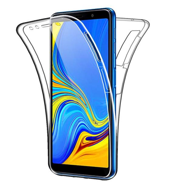 360 Gel Case Cover For Samsung Galaxy A7 Plus 2018
