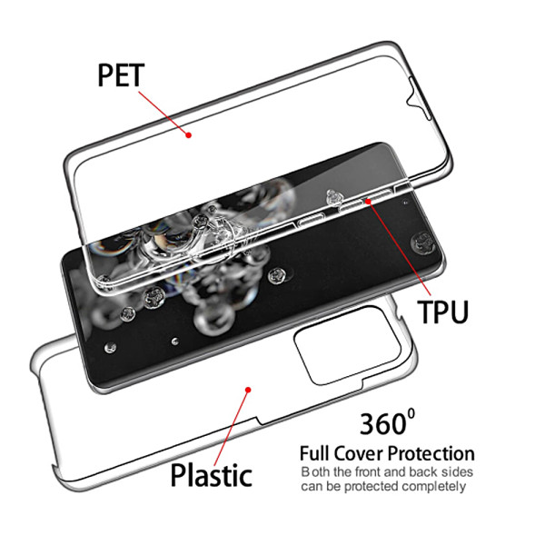 360 Gel Case Cover For Samsung Galaxy Note 20 Ultra