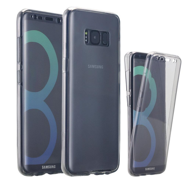 360 Gel Case Cover For Samsung Galaxy S8 Plus