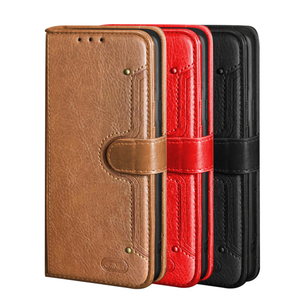 ANG Premium Leather Flip Book Case For iPhone 11 Pro Max