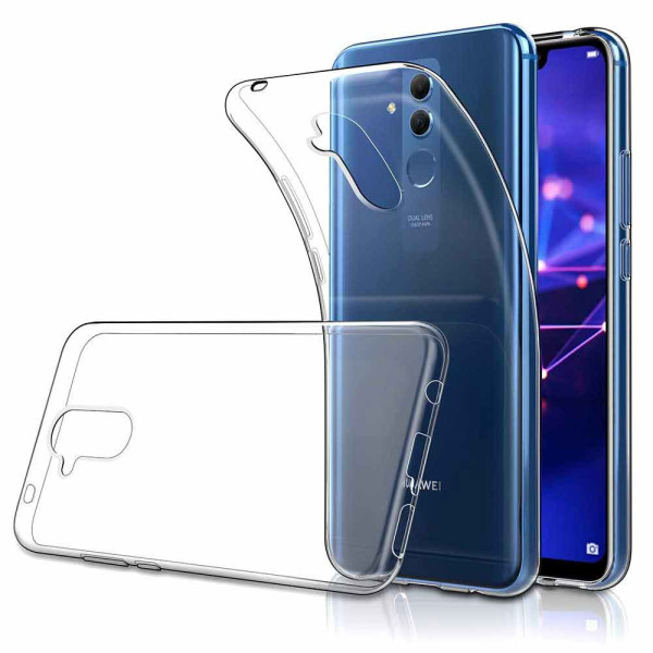 Clear Soft TPU Gel Protective Case for Huawei Mate 20 Lite