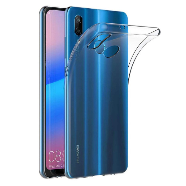 Clear Soft TPU Gel Protective Case for Huawei P20 Lite