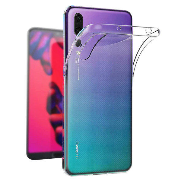 Clear Soft TPU Gel Protective Case for Huawei P20 Pro