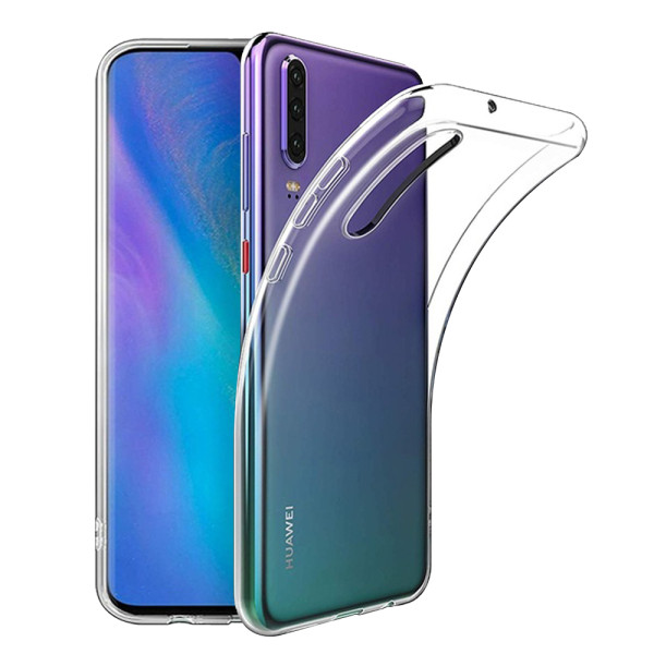 Clear Soft TPU Gel Protective Case for Huawei P30 Lite