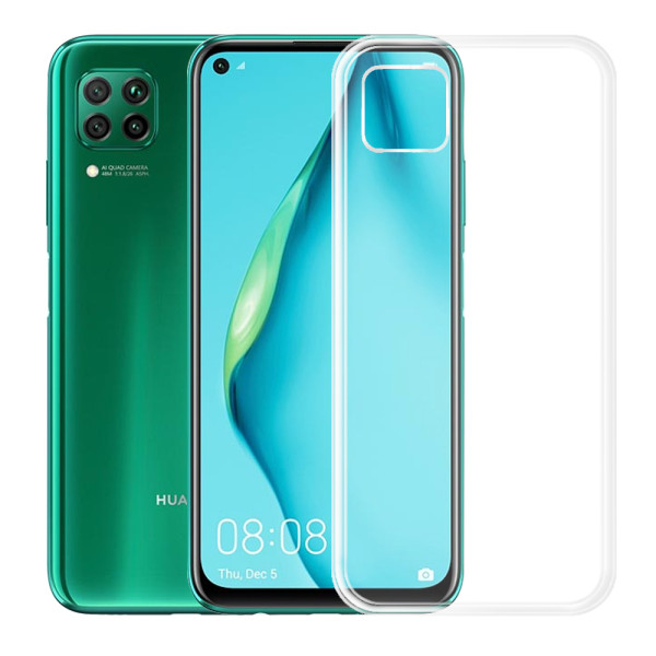 Clear Soft TPU Gel Protective Case For Huawei P40 Lite