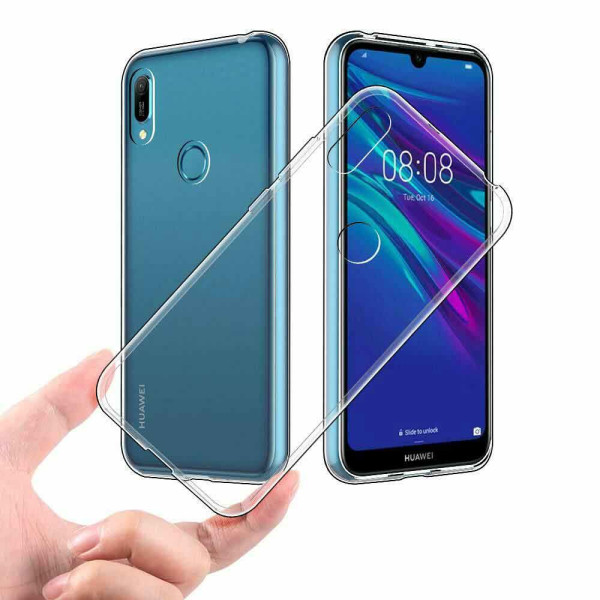 CLEAR SOFT TPU GEL PROTECTIVE CASE FOR HUAWEI Y6 2019