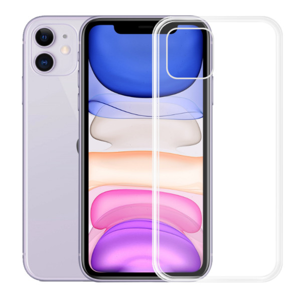 Clear Soft TPU Gel Protective Case for iPhone 11
