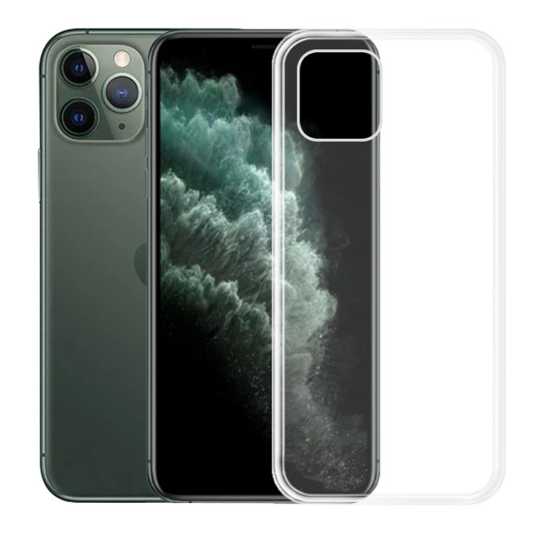 Clear Soft TPU Gel Protective Case for iPhone 11 Pro