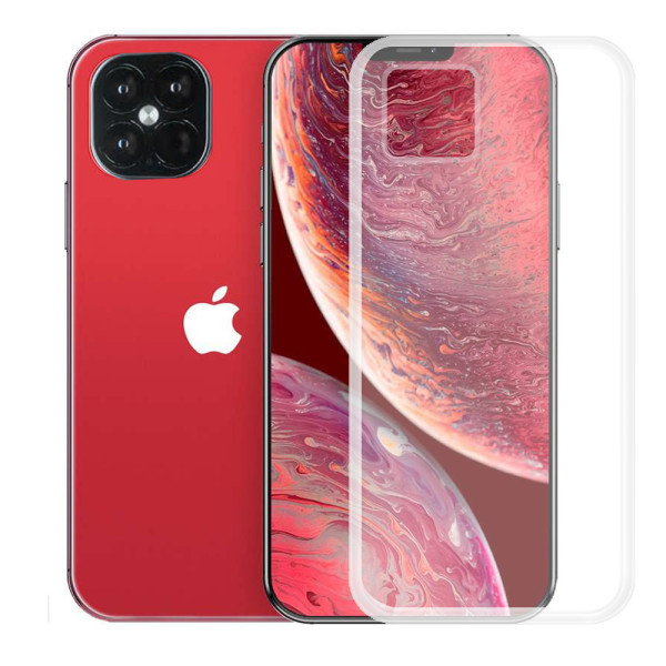 Clear Soft TPU Gel Protective Case for iPhone 12 Pro Max 6.7