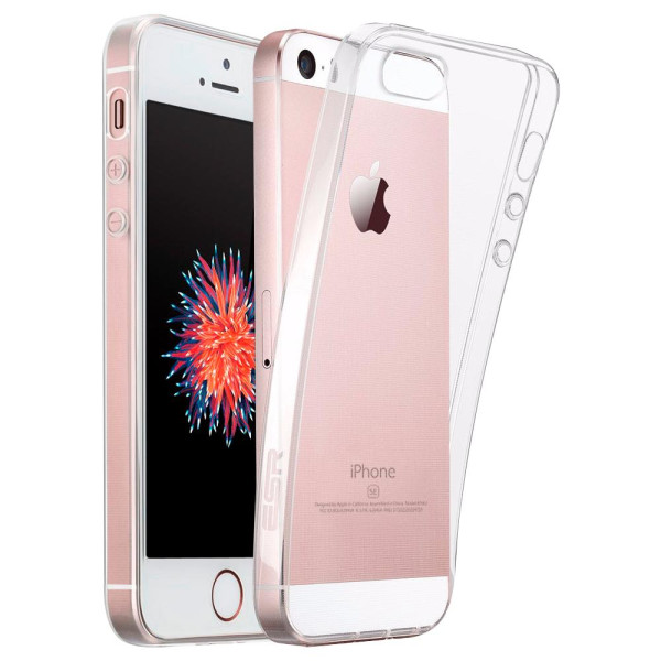 Clear Soft TPU Gel Protective Case for iPhone 5