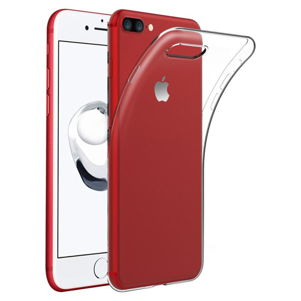 Clear Soft TPU Gel Protective Case for iPhone 7/8