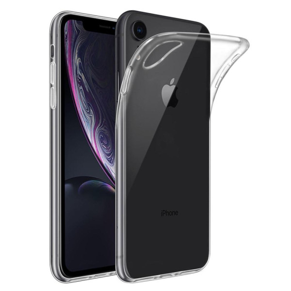 Clear Soft TPU Gel Protective Case for iPhone XR