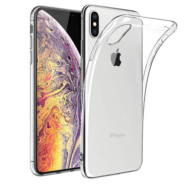 Clear Soft TPU Gel Protective Case for iPhone XS MAX