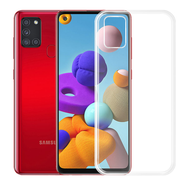Clear Soft TPU Gel Protective Case For Samsung Galaxy A20S