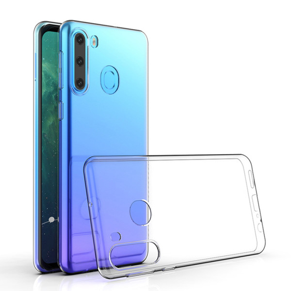 Clear Soft TPU Gel Protective Case For Samsung Galaxy A21