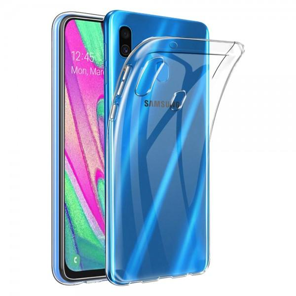 Clear Soft TPU Gel Protective Case For Samsung Galaxy A30S SM-A307