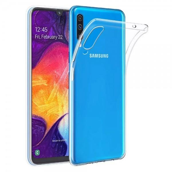 Clear Soft TPU Gel Protective Case For Samsung Galaxy A50S SM-A507