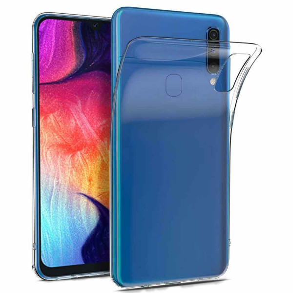 Clear Soft TPU Gel Protective Case For Samsung Galaxy A60 SM-A605
