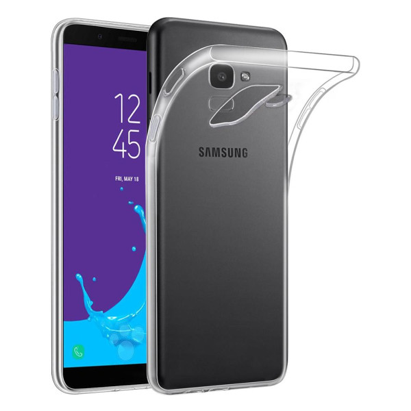 Clear Soft TPU Gel Protective Case for Samsung Galaxy J6 2018