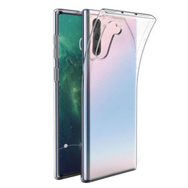 Clear Soft TPU Gel Protective Case For Samsung Galaxy Note 10 5G