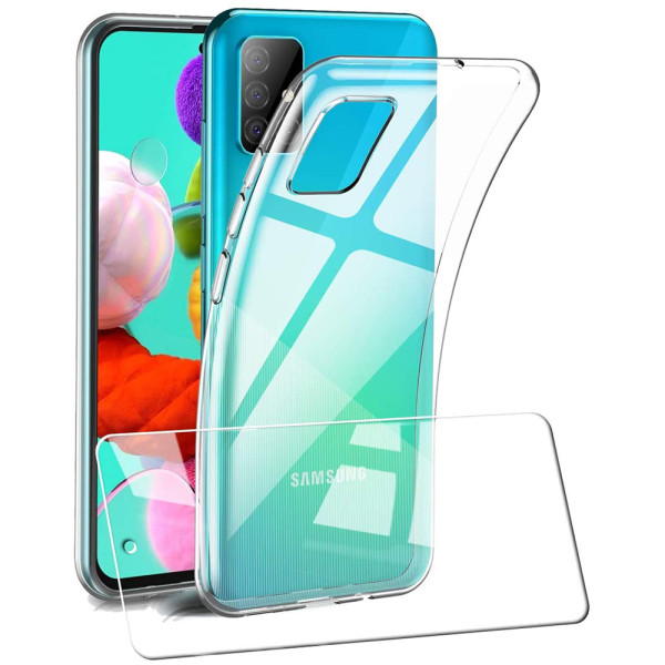 Clear Soft TPU Gel Protective Case For Samsung Galaxy Note 10 Lite