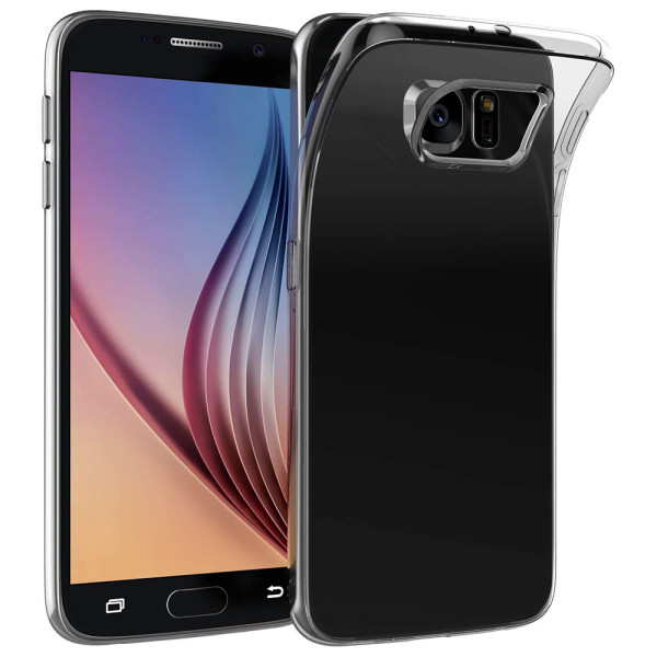 Clear Soft TPU Gel Protective Case For Samsung Galaxy S6