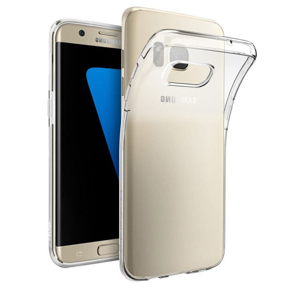 Clear Soft TPU Gel Protective Case For Samsung Galaxy S7