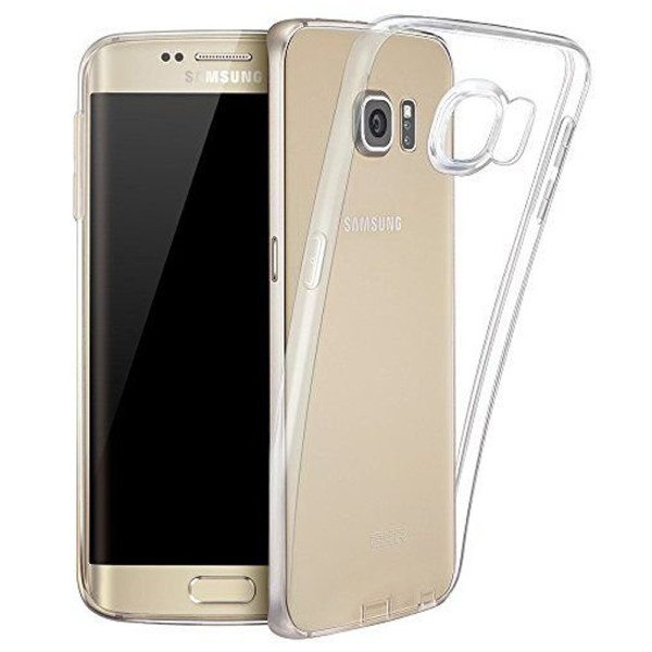 Clear Soft TPU Gel Protective Case For Samsung Galaxy S7 Edge