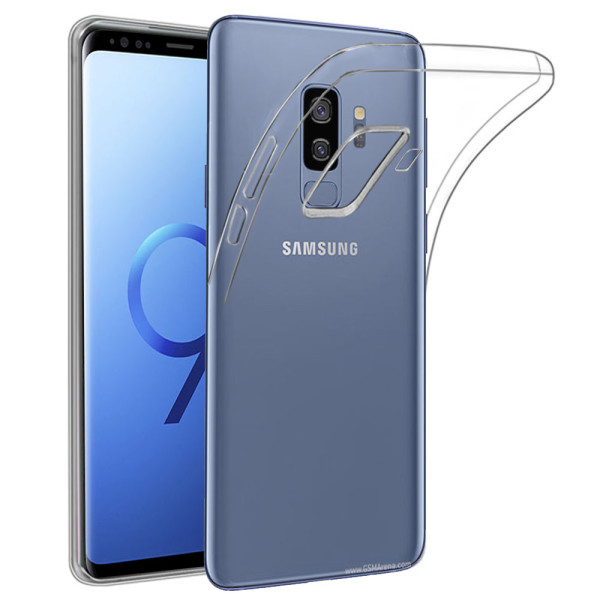 Clear Soft TPU Gel Protective Case for Samsung Galaxy S9 Plus