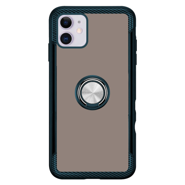 Compatible 2 in 1 Ring Protective Case For iPhone 11