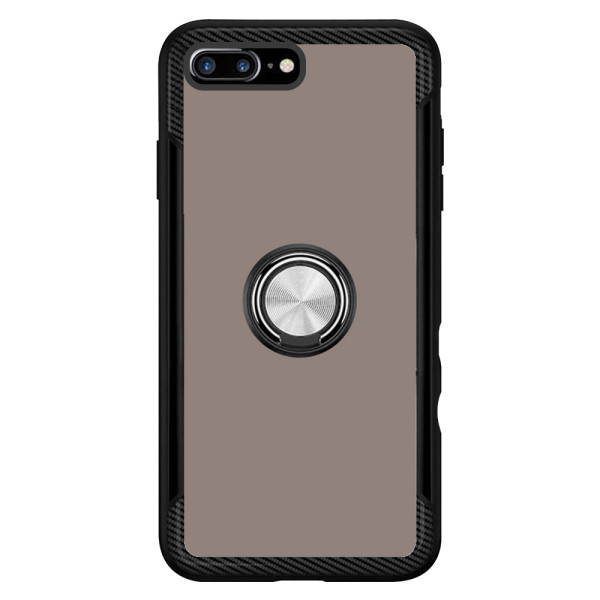 Compatible 2 in 1 Ring Protective Case For iPhone 7/8 Plus