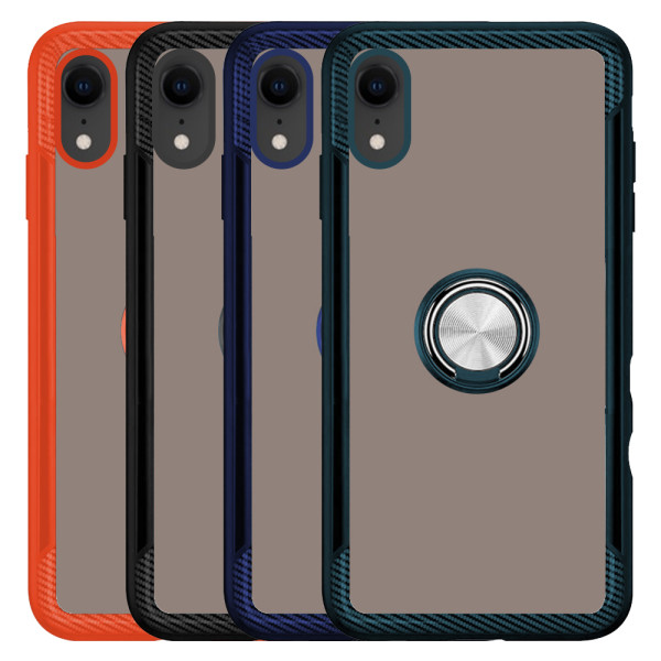 Compatible 2 in 1 Ring Protective Case For iPhone XR