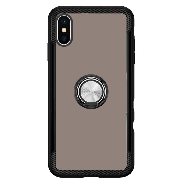Compatible 2 in 1 Ring Protective Case For iPhone XS Max
