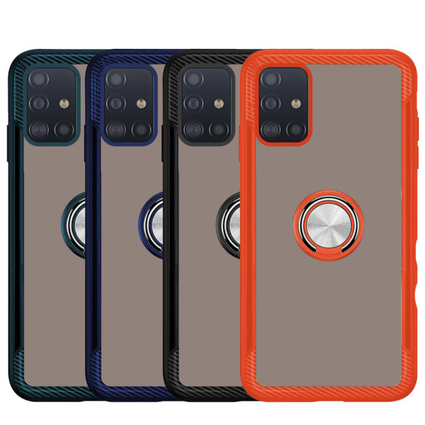 Compatible 2 in 1 Ring Protective Case For Samsung Galaxy A51 SM-515