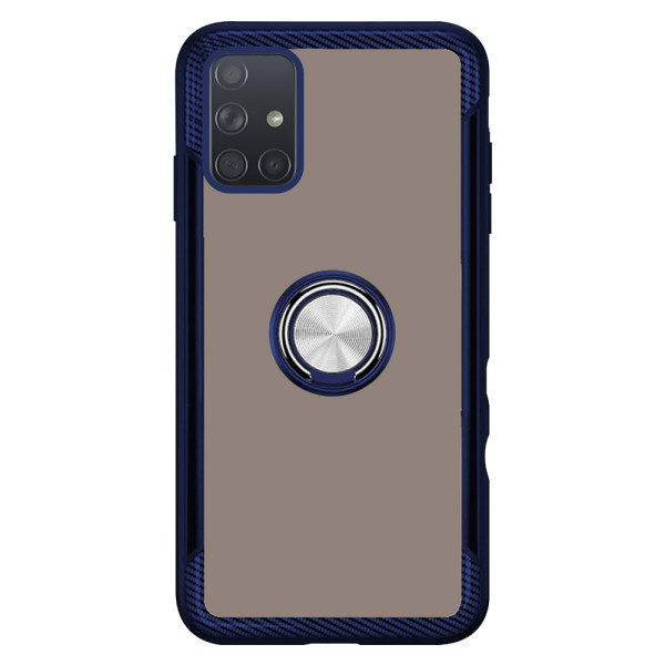Compatible 2 in 1 Ring Protective Case For Samsung Galaxy A71 SM-715