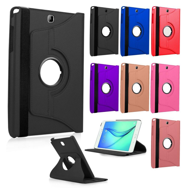 Compatible 360 Rotating Leather Case For Samsung G...