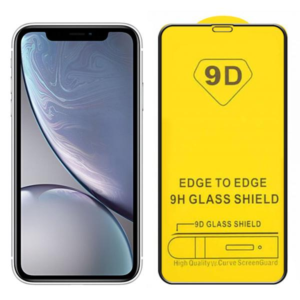 Compatible 9D Tempered Glass for iPhone XR