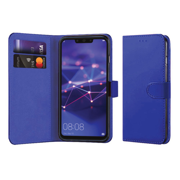 Compatible Book Case With Wallet Slot For Huawei Mate 20 Lite