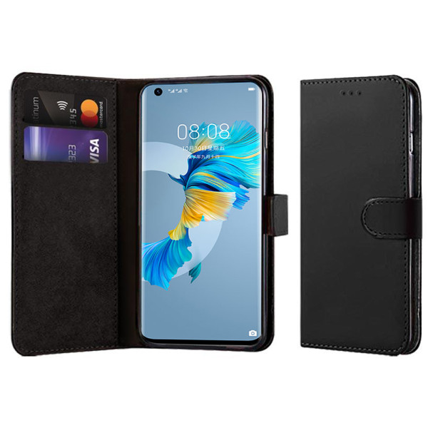 Compatible Book Case With Wallet Slot For Huawei Mate 40