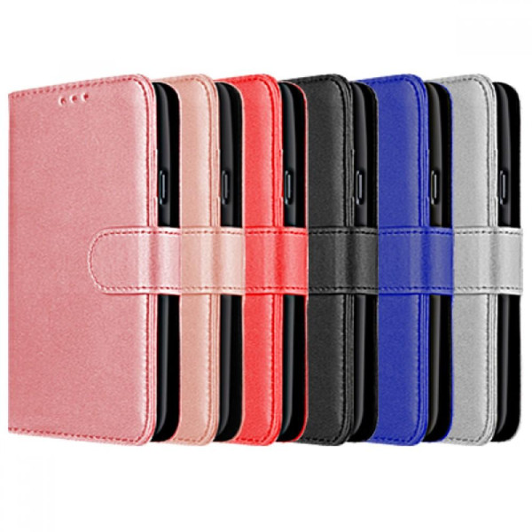 Compatible Book Case With Wallet Slot For Huawei P20 Pro