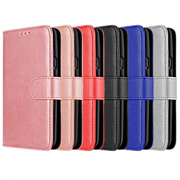Compatible Book Case With Wallet Slot For Huawei Y...