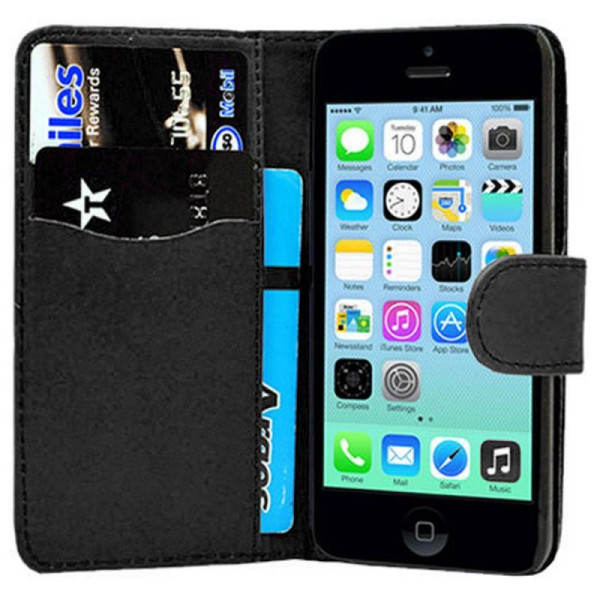 Compatible Book Case With Wallet Slot For iPhone 7/8