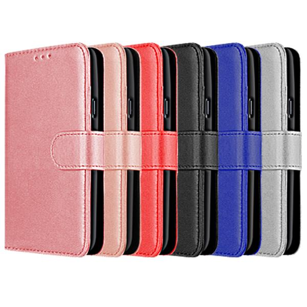 Compatible Book Case With Wallet Slot For iPhone X