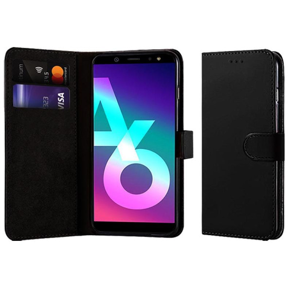 Compatible Book Case With Wallet Slot For Samsung A6 2018