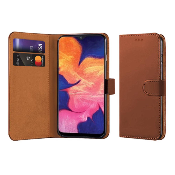 Compatible Book Case With Wallet Slot For Samsung Galaxy A10 SM-A105
