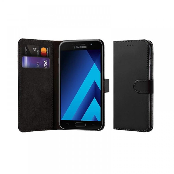 Compatible Book Case With Wallet Slot For Samsung Galaxy A3 2017