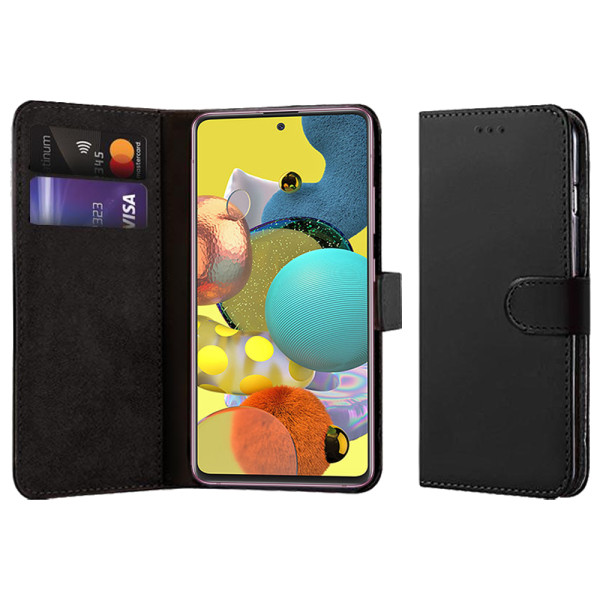 Compatible Book Case With Wallet Slot For Samsung Galaxy A51 5G SM-A516