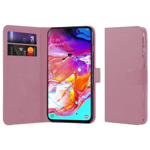 Compatible Book Case With Wallet Slot For Samsung Galaxy A70 SM-A705