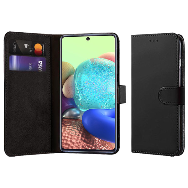 Compatible Book Case With Wallet Slot For Samsung Galaxy A Quantum SM-A716