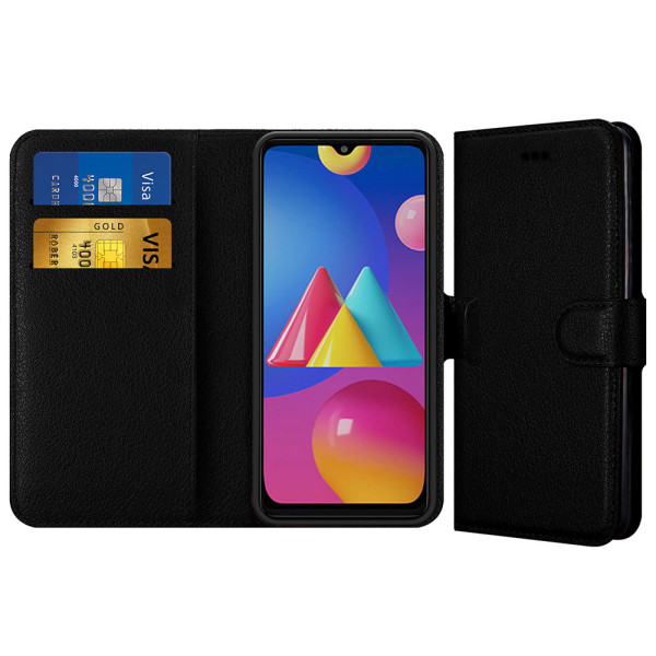 Compatible Book Case With Wallet Slot For Samsung Galaxy M02S SM-M025F